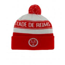 Bonnet rouge et blanc