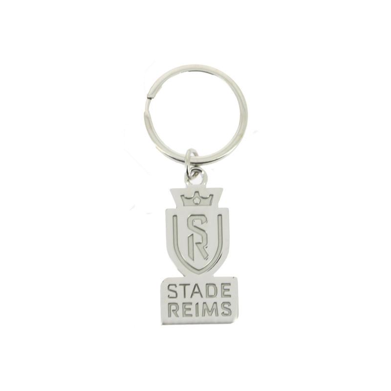 Porte clé logo argent