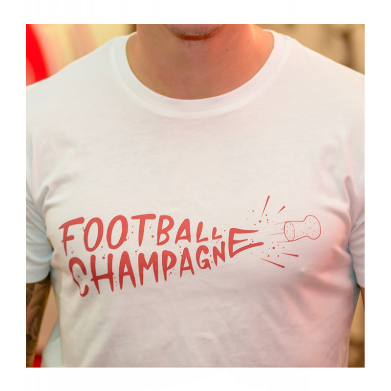 T-shirt football champagne